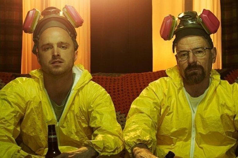 """Aktorzy """"Breaking Bad"""" reklamowali alkohol."""