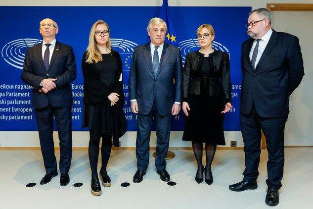 Magdalena Adamowicz wraz z rodziną przyleciała do Brukseli