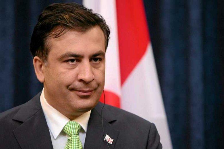 Obecny prezydent Gruzji Micheil Saakaszwili, lider partii Zjednoczony Ruch Narodowy