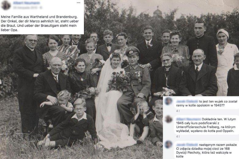 Część rekonstruktorów nie ukrywa, że pośród swoich przodków miała żołnierzy niemieckich.