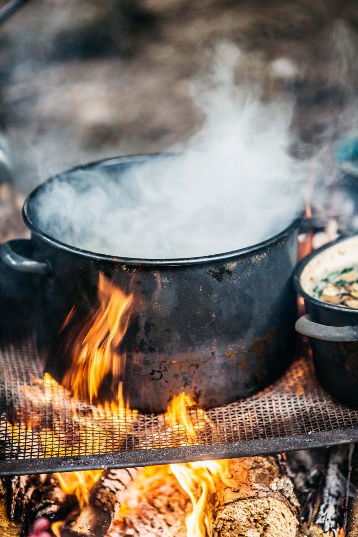 Gotowanie.
