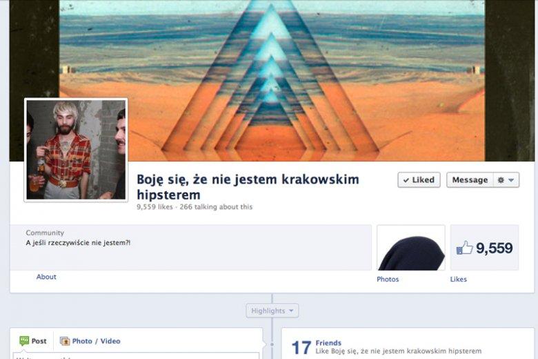 Boję się, że nie jestem krakowskim hipsterem