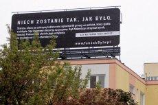 Historia z tego plakatu to taka sama prawda, jak ta o sądzie w Świdnicy, który zwolnił pedofila.