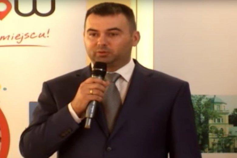 Błażej Spychalski jest prezesem Zakładu Gospodarki Wodno-Kanalizacyjnej w Tomaszowie Maz.