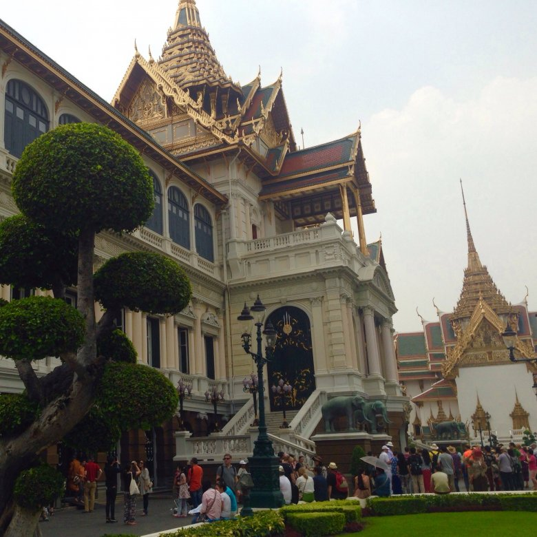 Pałac Królewski. Bangkok/Tajlandia