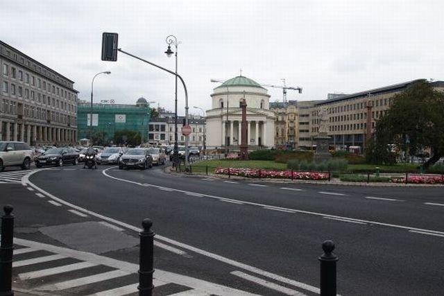 Plac Trzech Krzyży, Warszawa