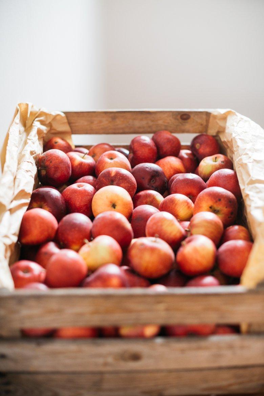 Jabłka z Mazur. Są istotnym składnikiem każdego zbożowego śniadania.