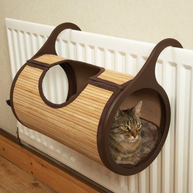Byś w długie zimowe wieczory miał pewność, że twój koci pan jest zawsze w najcieplejszym i najprzyjemniejszym miejscu w domu.