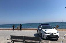 Plażę Sant Sebastia zamknięto dla turystów