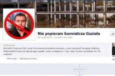 Burmistrz Ursynowa znalazł się na celowniku internautów. Wypominają mu każdy jego błąd czy zaniedbanie.