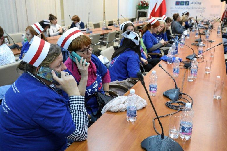 Protest pielęgniarek w Przemyślu. Zdjęcie poglądowe.