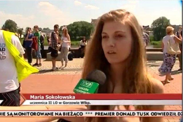 Maria Sokłowska została nową bohaterką prawicowych serwisów
