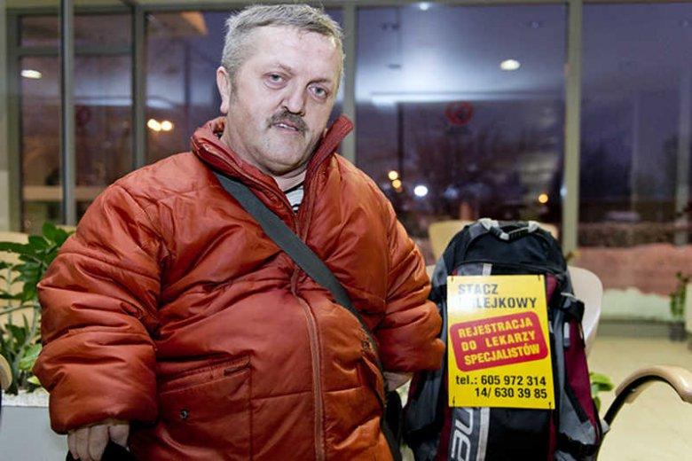 Tadeusz Żak, profesjonalny stacz kolejkowy z Tarnowa.