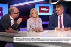 Włodzimierzowi Czarzastemu puściły nerwy po słowach polityka PiS Marcina Porzucka.