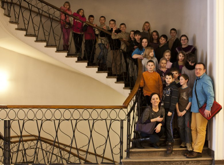 Część dzieci, którymi zajmuje się Grupa Charytatywna Freta