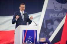 W swoim wystąpieniu Mateusz Morawiecki głównie krytykował Koalicję Europejską.