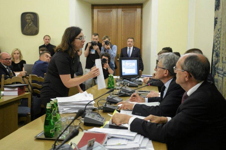 Gasiuk-Pihowicz jest bardzo aktywna także na komisjach
