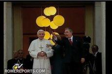 Papież Benedykt XVI i Raul Castro