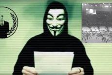 Wiadomość, jaką przekazała organizacja Anonymous po zamachach w Paryżu.