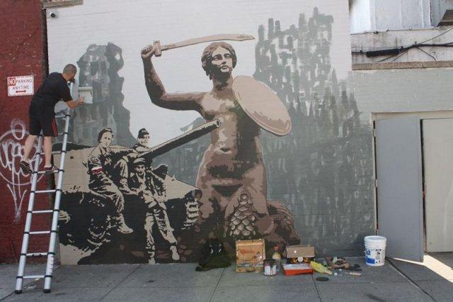 Nowy Jork uczci rocznicę wybuchu Powstania Warszawskiego. Powstanie mural na Greenpoincie