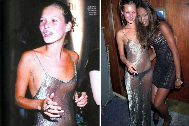 Naga sukienka to wcale nie nowość.