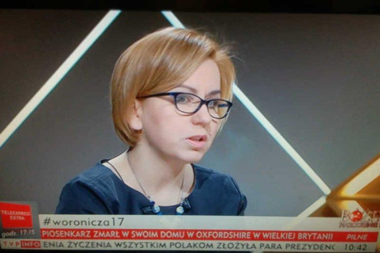 Paulina Hennig-Kloska z Nowoczesnej zadała politykowi PiS jedno pytanie, którym udowodniła absurdalność głosowań w Sali Kolumnowej.