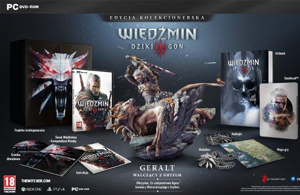 Wiedźmin 3: Dziki Gon - edycja kolekcjonerska