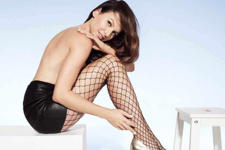 Anna Lewandowska jest ambasadorką Calzedonii. Dla tej znanej marki zapozowała topless.