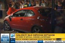 Kierowca, który potrącił w Sopocie ponad 20 osób, został uznany za niepoczytalnego