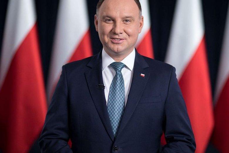 Prezydent Andrzej Duda wygłosił orędzie ws. wyborów.