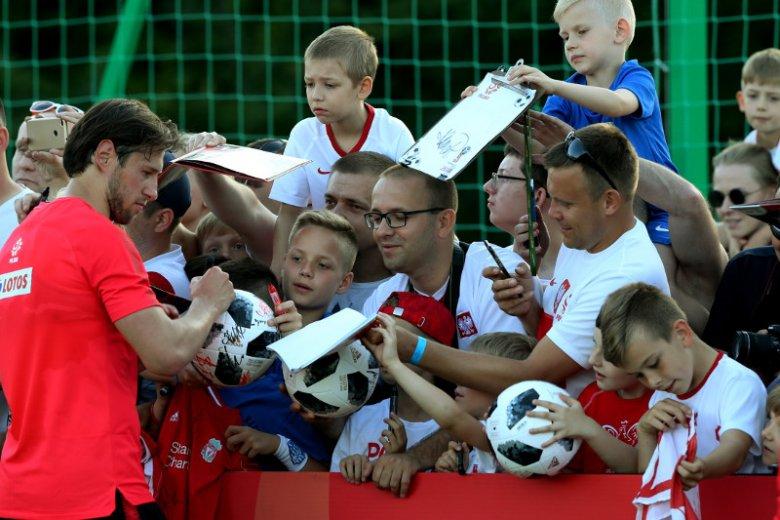 Trzeci dzień zgrupowania reprezentacji Polski w piłce nożnej w Arlamowie.