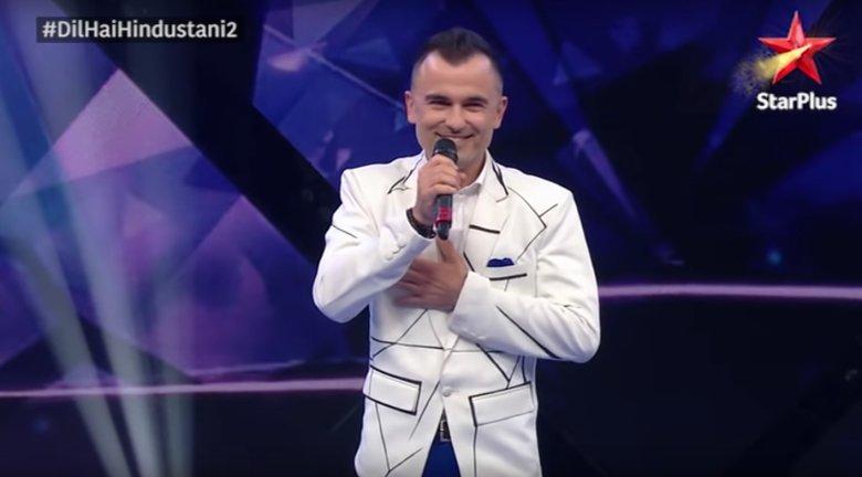 Michał Rudaś w indyjskim talent show Dil Hai Hindustani