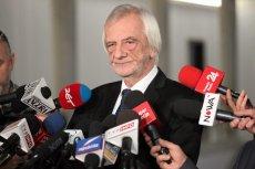 Ryszard Terlecki broniąc nowelizacji PiS zaatakował opozycję.