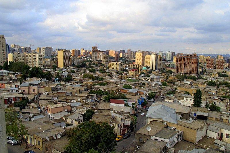 Krajobraz Baku