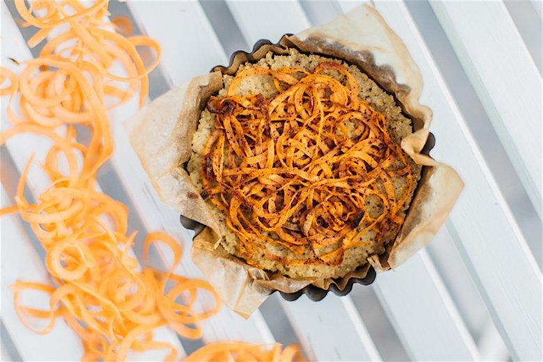 Tartinka jaglana w wykonaniu Gabrielą Frankiewicz nie ma w sobie nic ze smutnego, dietetycznego deseru, gdzie słodycz jest ledwo wyczuwalna, a całość sucha jak wiór.