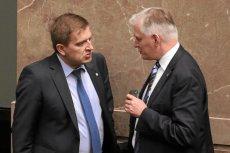 Arłukowicz i Gowin: niegdyś koledzy z rządu, dziś nie szczędzą sobie złośliwości.