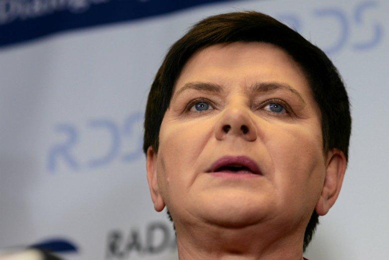 Beata Szydło powiedziała odrobinę za dużo o kandydacie PiS w wyborach prezydenckich w 2020 r.