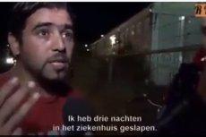 Ten imigrant wywołał ogromną dyskusję wyznając w telewizji , że przez brak seksu w obozie ma spuchnięte jądra.