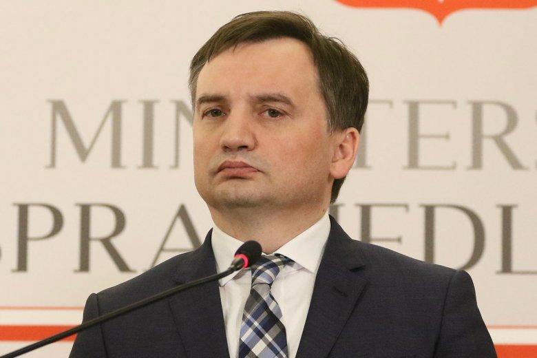 Zbigniew Ziobro nie był zadowolony z decyzji KE.