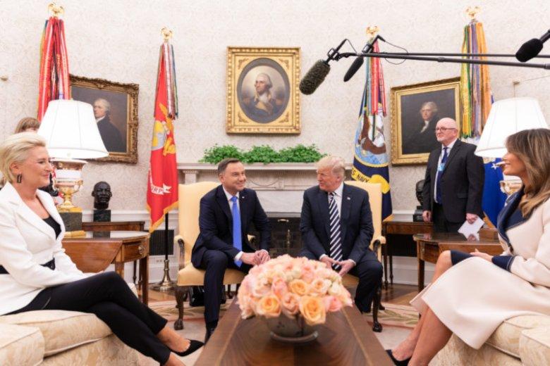Prezydent Andrzej Duda z wizytą w Białym Domu.