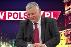 Marek Suski jak zwykle chwali Jarosława Kaczyńskiego.