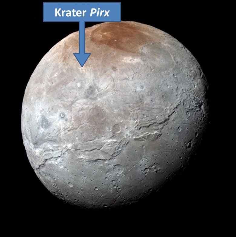 Charon, księżyc Plutona.