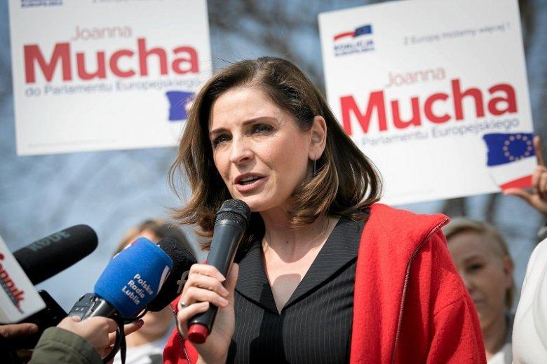 Joanna Mucha przyznała, że będzie czas rozliczania Grzegorza Schetyny po wyborach.