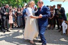 Prezydent Rosji był obecny na ślubie szefowej austriackiego MSZ. I tak skradł całe show.