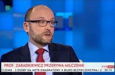 Kamil Zaradkiewicz, sędzia Sądu Najwyższego. Prezydent Andrzej Duda wyznaczył go na tymczasowego I prezesa SN.