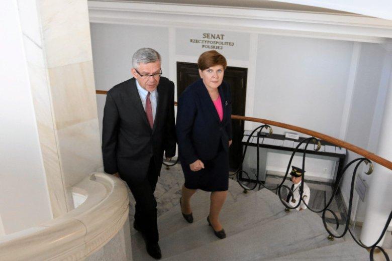 Czyżby Andrzej Duda już nie był potrzebny. Była premier miałaby wystartować w wyborach prezydenckich.