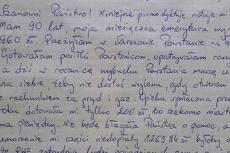 Pani Sabina miała dług w zakładzie energetycznym, w jej imieniu list do RWE wysłał jej sąsiad.