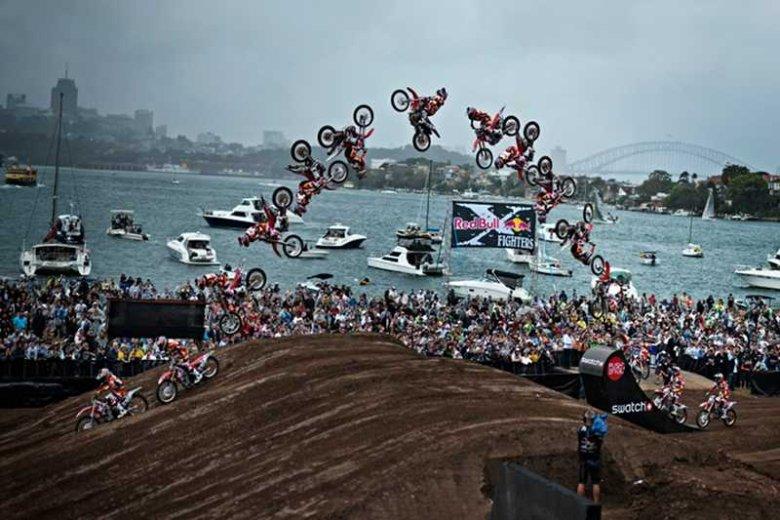 Zawody Red Bull X-Fighters w Sydney