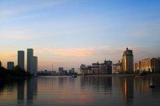 Astana - rozbudowująca się z dnia na dzień nowa stolica Kazachstanu