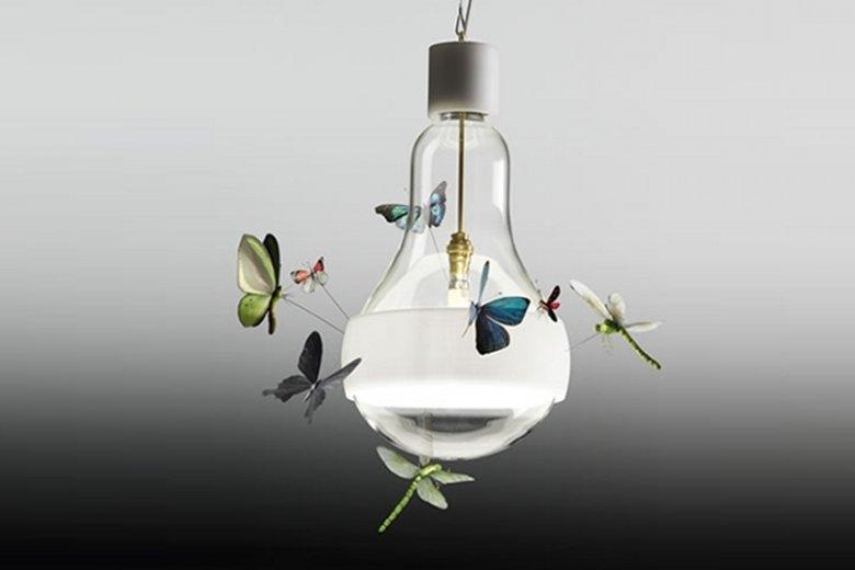 Projekt lampy Johnny B. Butterfly autorstwa Grahama Owena dla marki Ingo Maurer